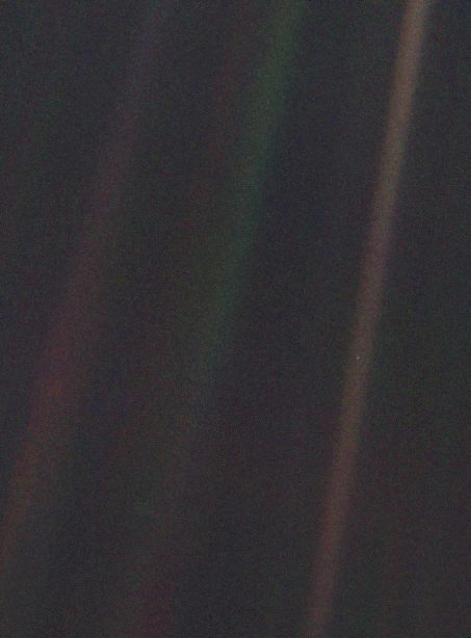 'Pale Blue Dot' Voyager I, NASA/JPL