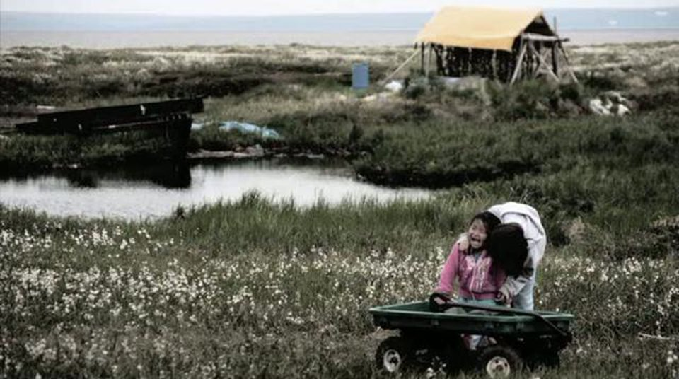 CLIMATE REFUGEES: Alaskan village stands on leading edge of climate change