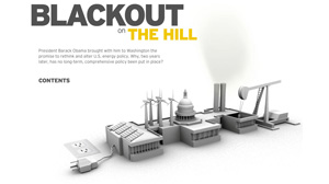 BLACKOUT ON THE HILL: The Evolution of an Energy Bill