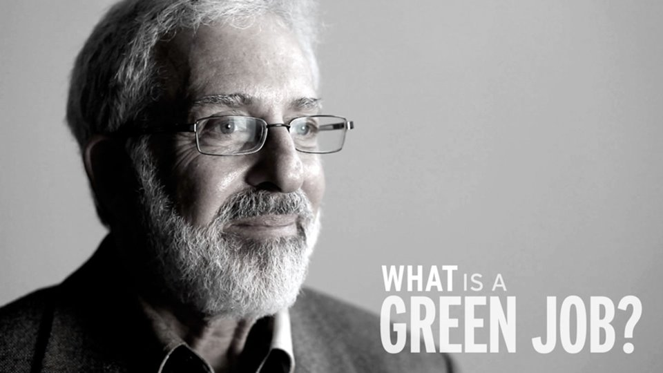 MANUFACTURING CHANGE: What is a green job?